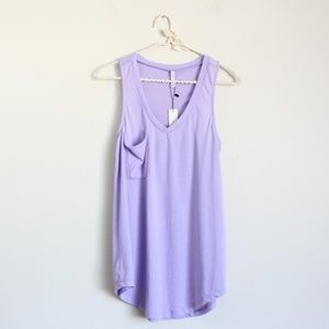 NWT Z Supply The Pocket Racer Tank Top